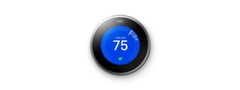 nest thermostat product photo