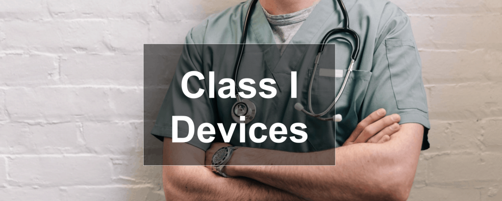Medical Device Class 1 header