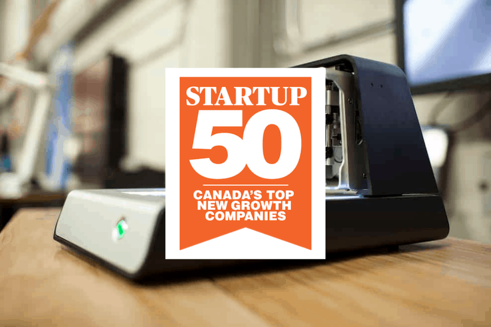 Startup client Voltera is nationally recognized for company growth